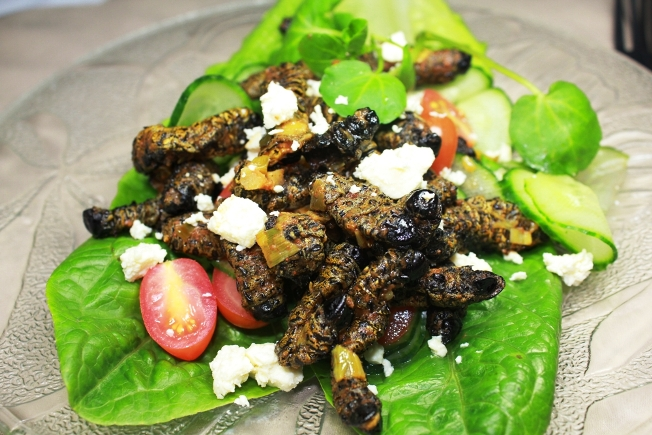 Mopane Worms. Credit - afrikanews.com