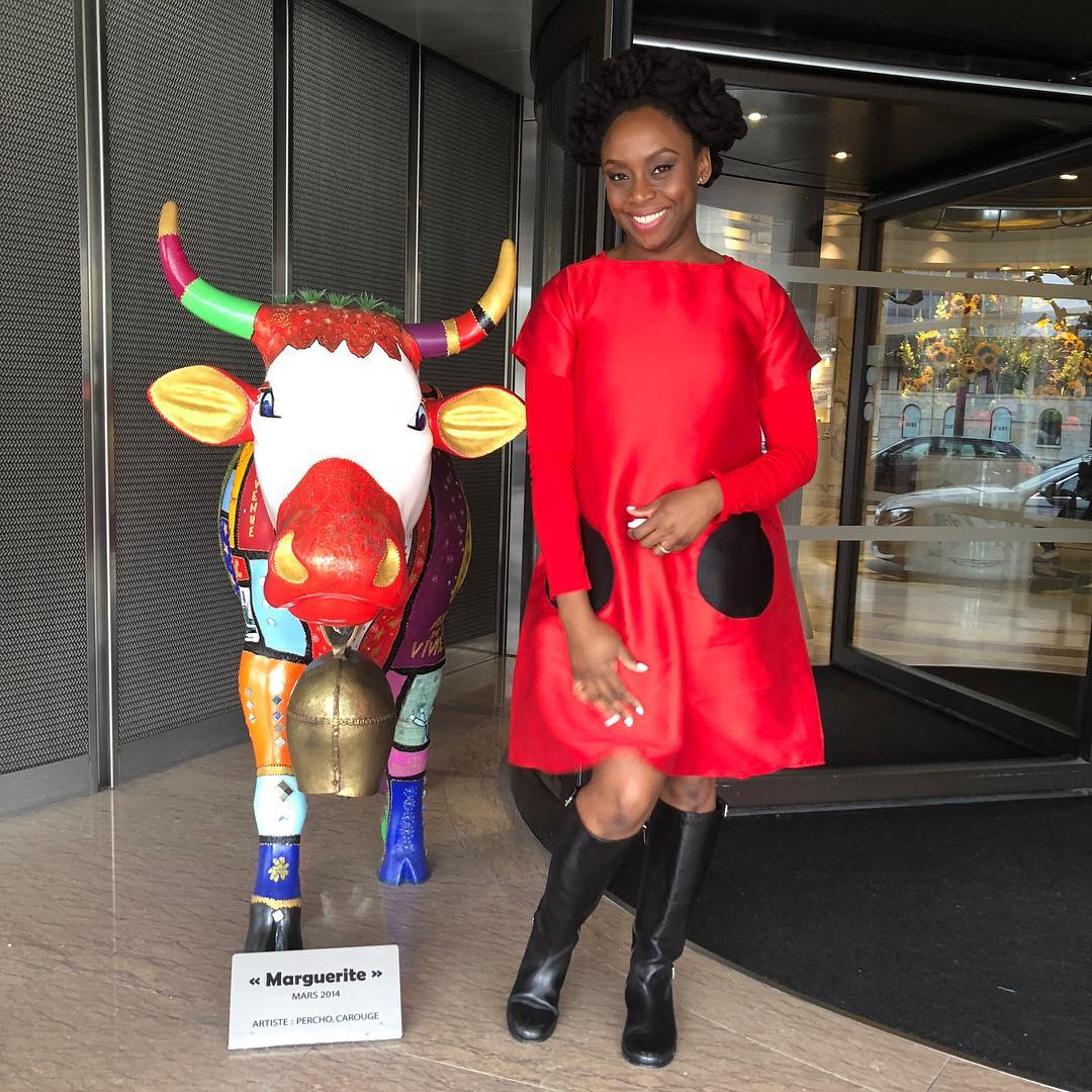 Checkout Chimamanda Ngozi Adichie Natural Hairstyles In Geneva