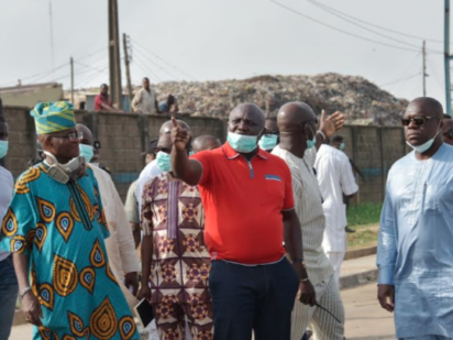 Ojota Dumpsite Fire Outbreak Causes Panic Among Residents