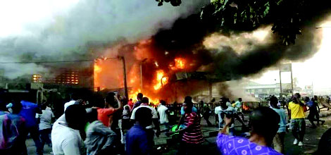 NNPC Pipeline Explosion Causes Confusion In Lagos